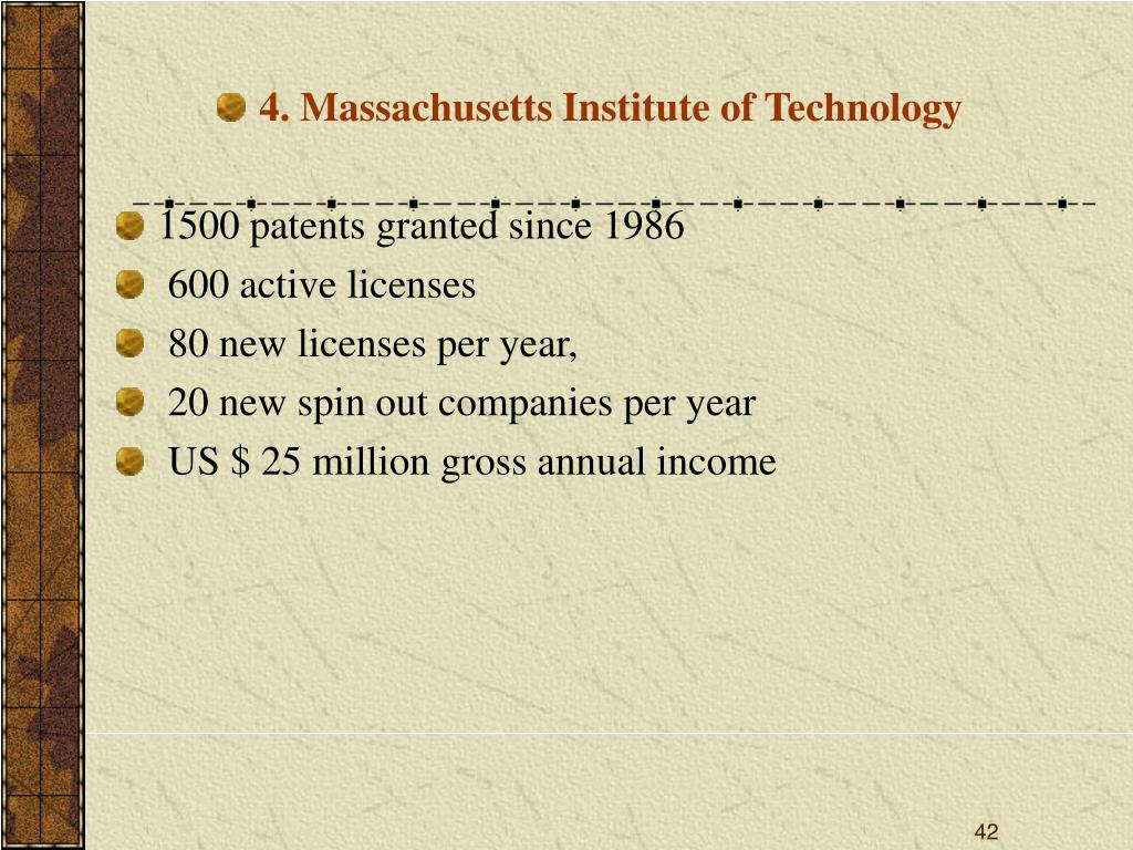 4. Massachusetts Institute of Technology