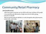 community retail pharmacy20