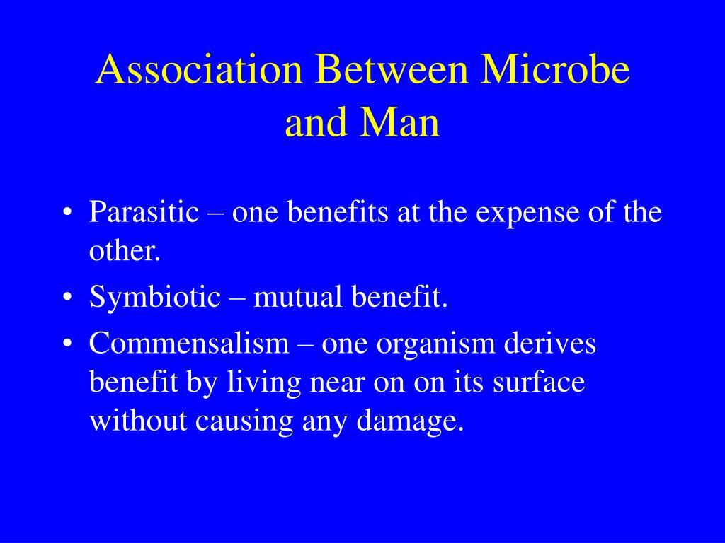 Association Between Microbe and Man