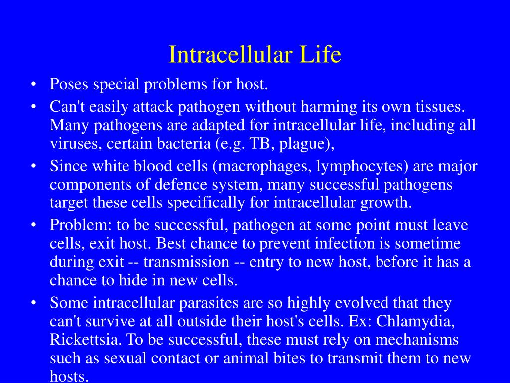 Intracellular Life