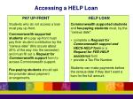 accessing a help loan1