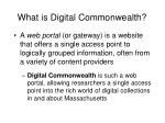what is digital commonwealth