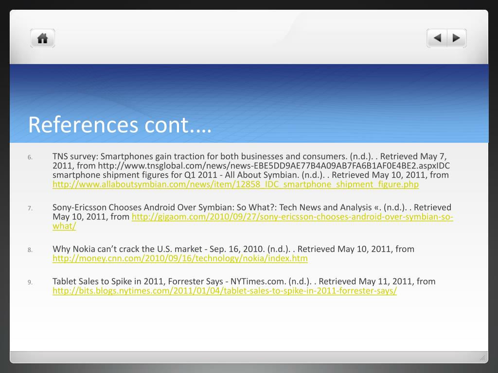 References cont.…