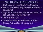 american heart assoc