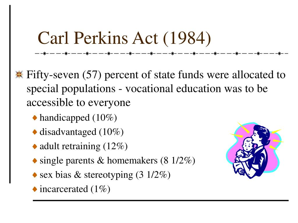 Carl Perkins Act (1984)