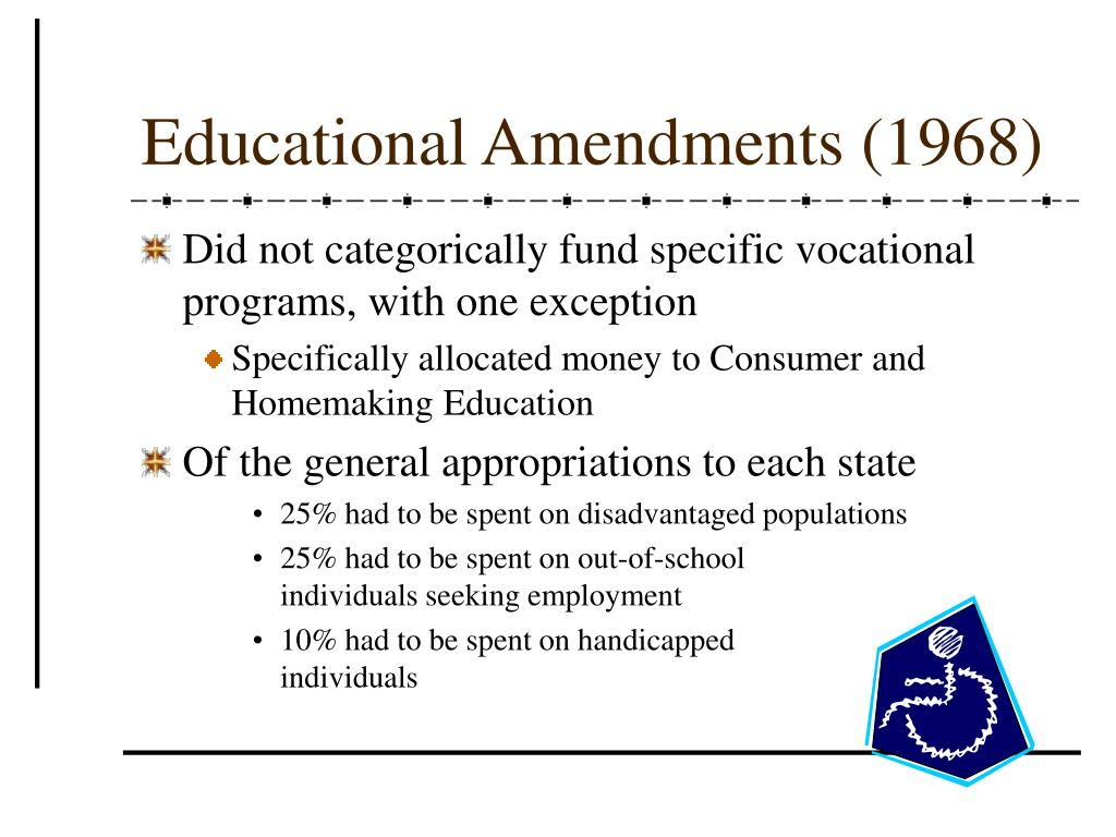 Educational Amendments (1968)