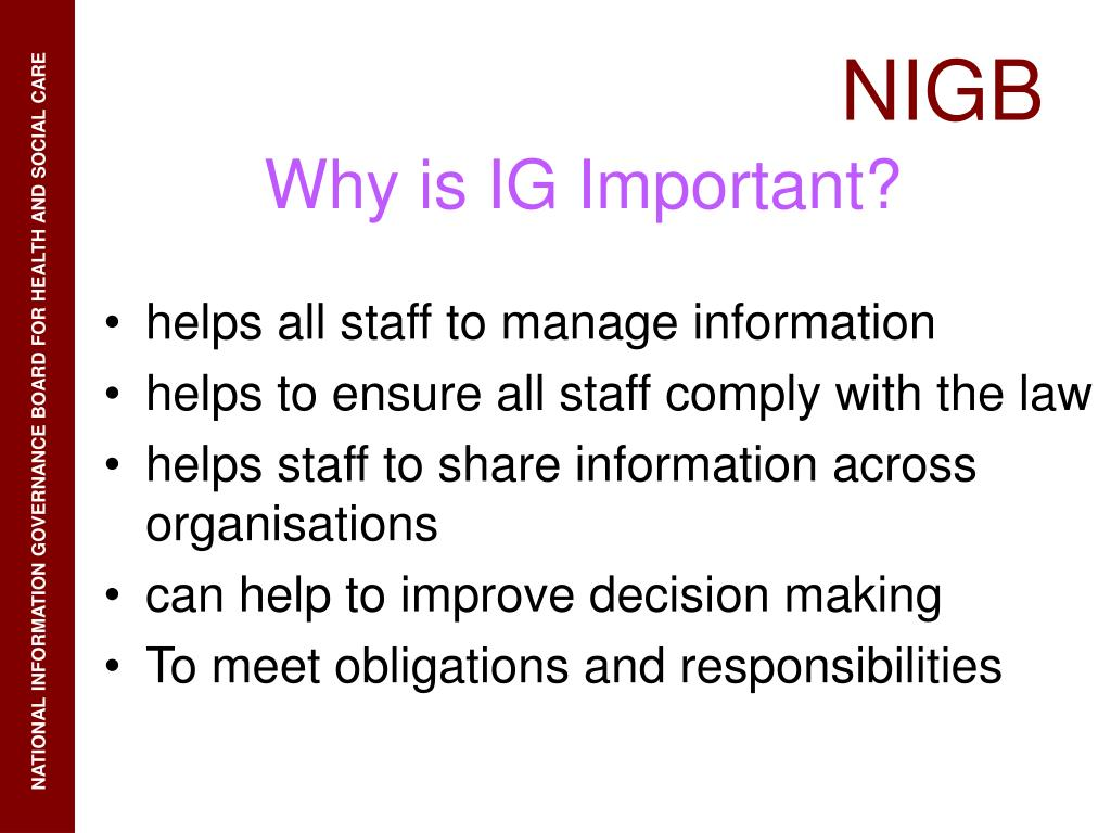 helps all staff to manage information