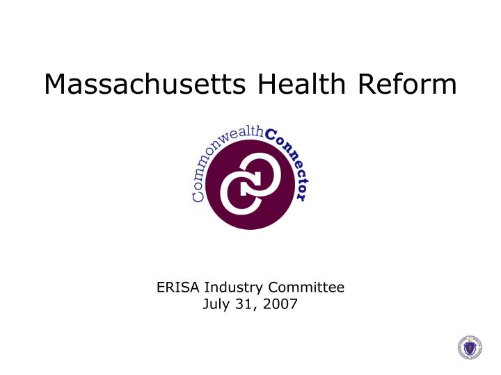 massachusetts health reform n.