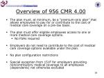 overview of 956 cmr 4 001