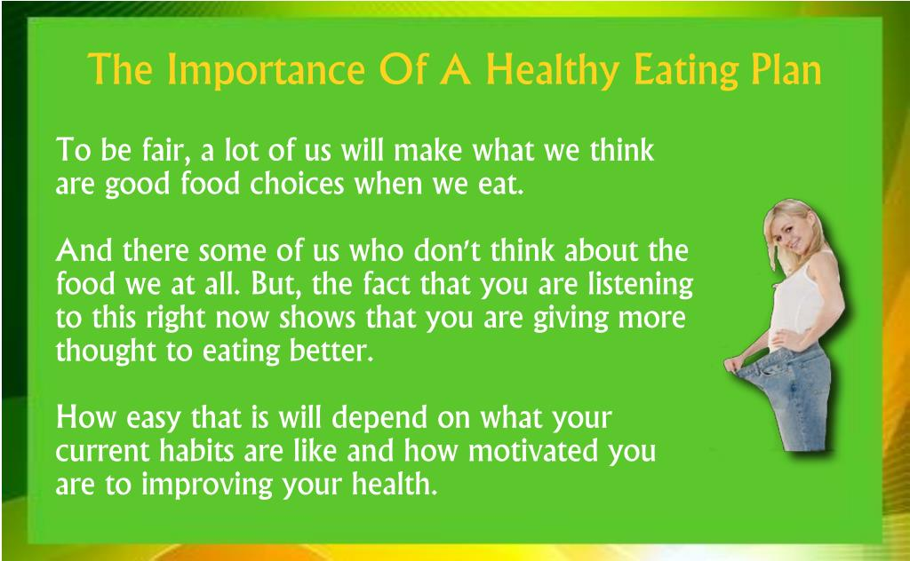 To be fair, a lot of us will make what we think are good food choices when we eat.