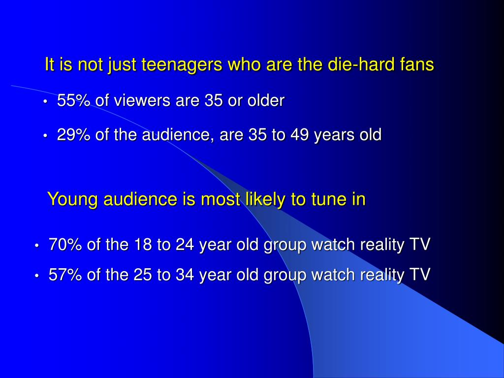 It is not just teenagers who are the die-hard fans