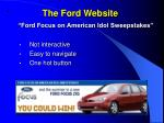 the ford website
