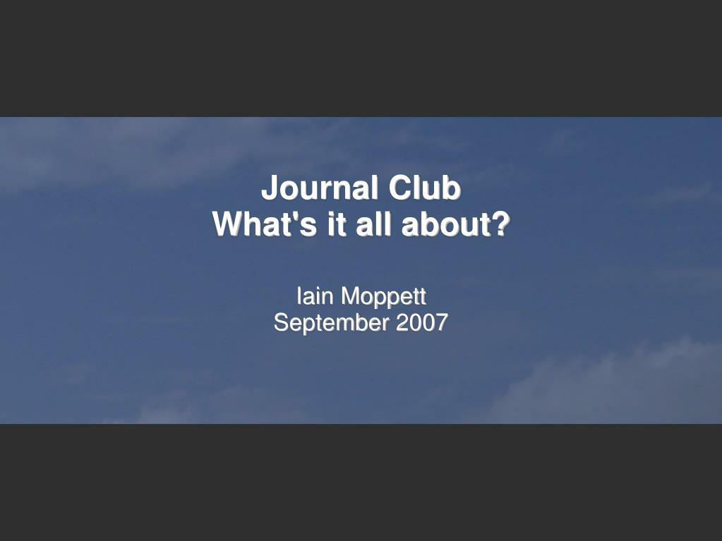 iain moppett september 2007 l.