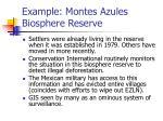 example montes azules biosphere reserve27