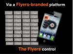 the flyers control