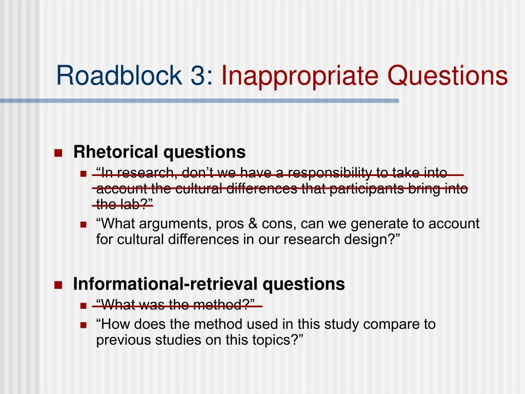 Roadblock 3: