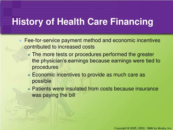 History of health care financing3