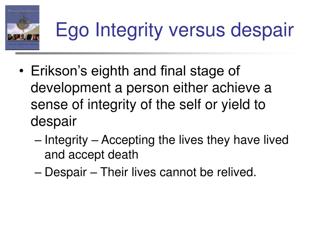 Ego Integrity versus despair