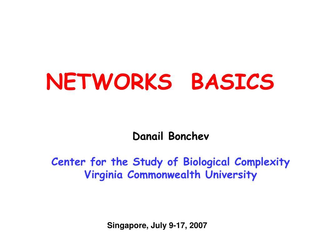 networks basics l.
