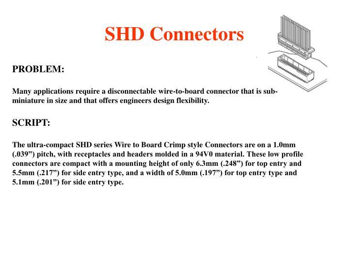 Shd connectors2