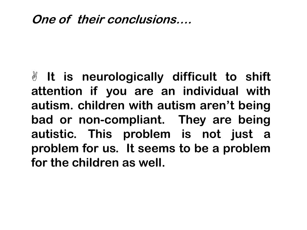 One of  their conclusions….
