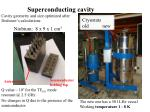 superconducting cavity