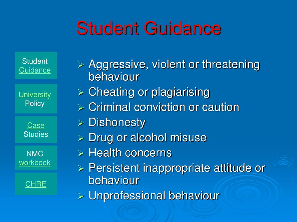 Student Guidance