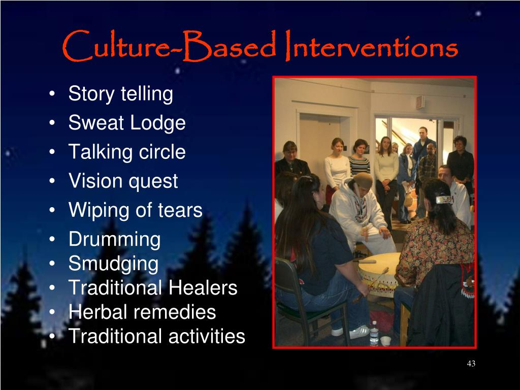 Culture-Based Interventions