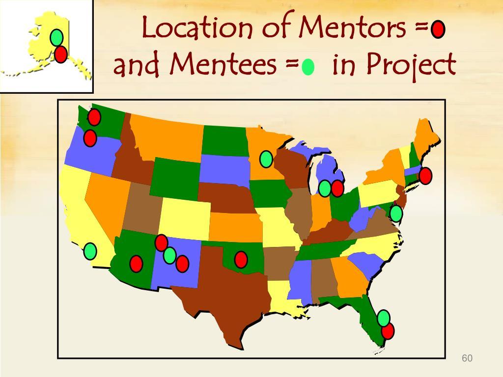 Location of Mentors =