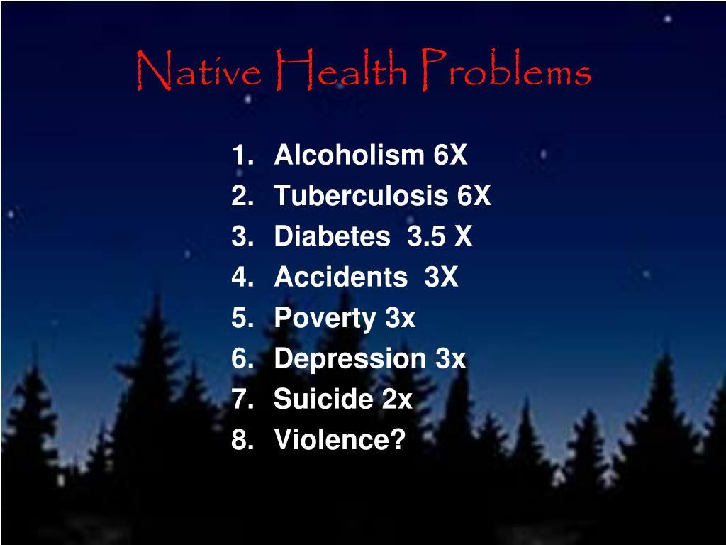 Native Health Problems