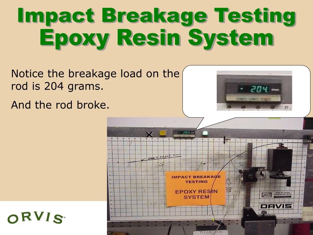 Impact Breakage Testing