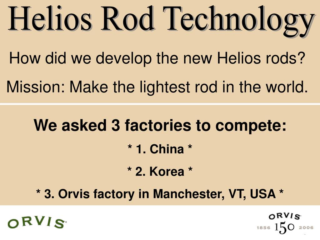 Helios Rod Technology