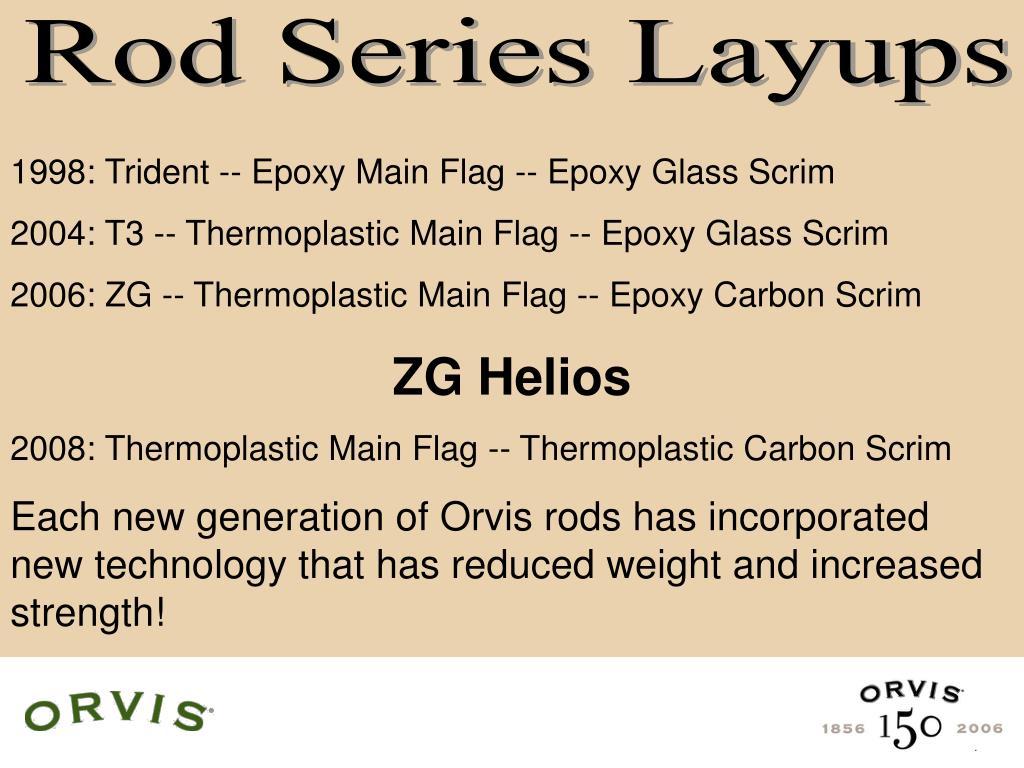 Rod Series Layups
