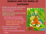 buddha and the wheel of suffering