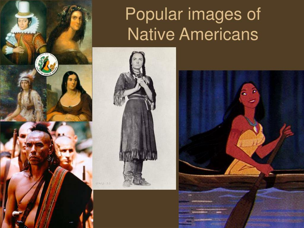Popular images of Native Americans
