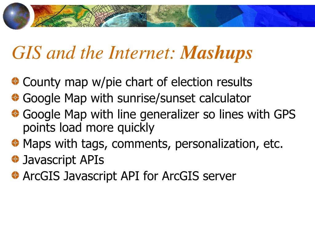 GIS and the Internet: