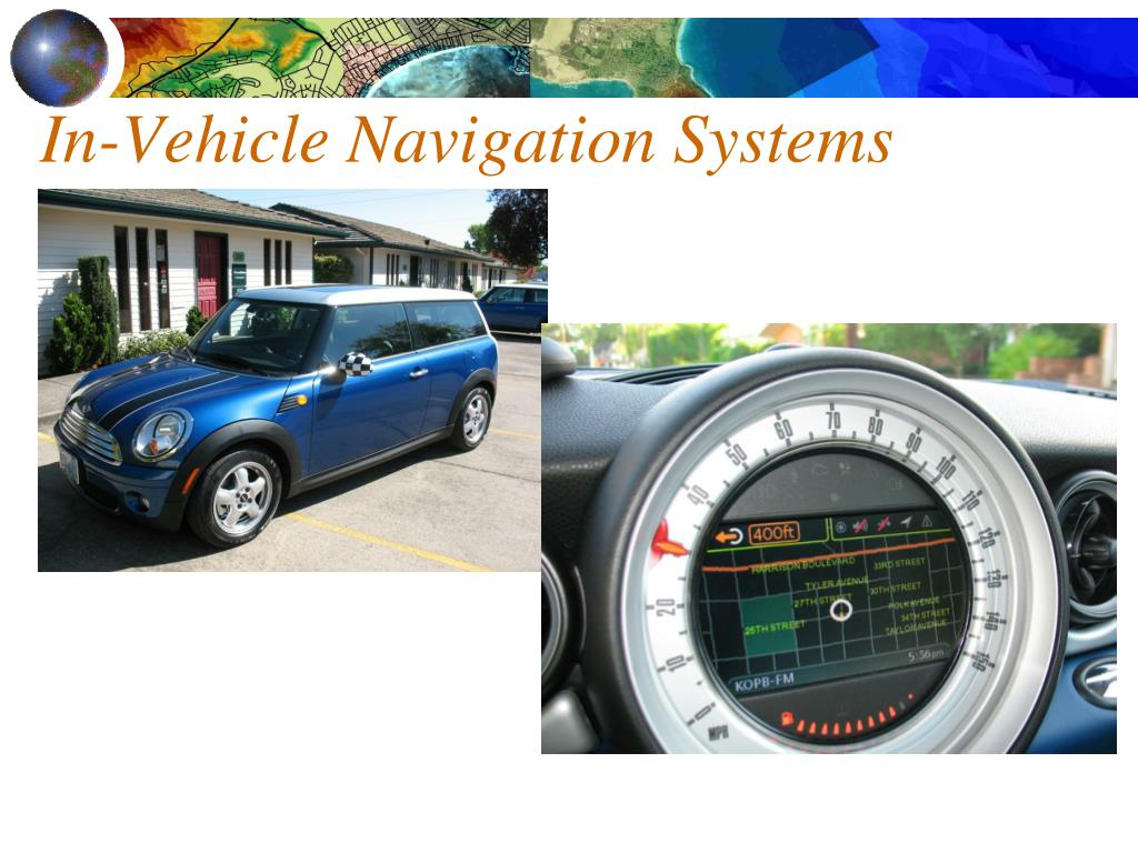 In-Vehicle Navigation Systems