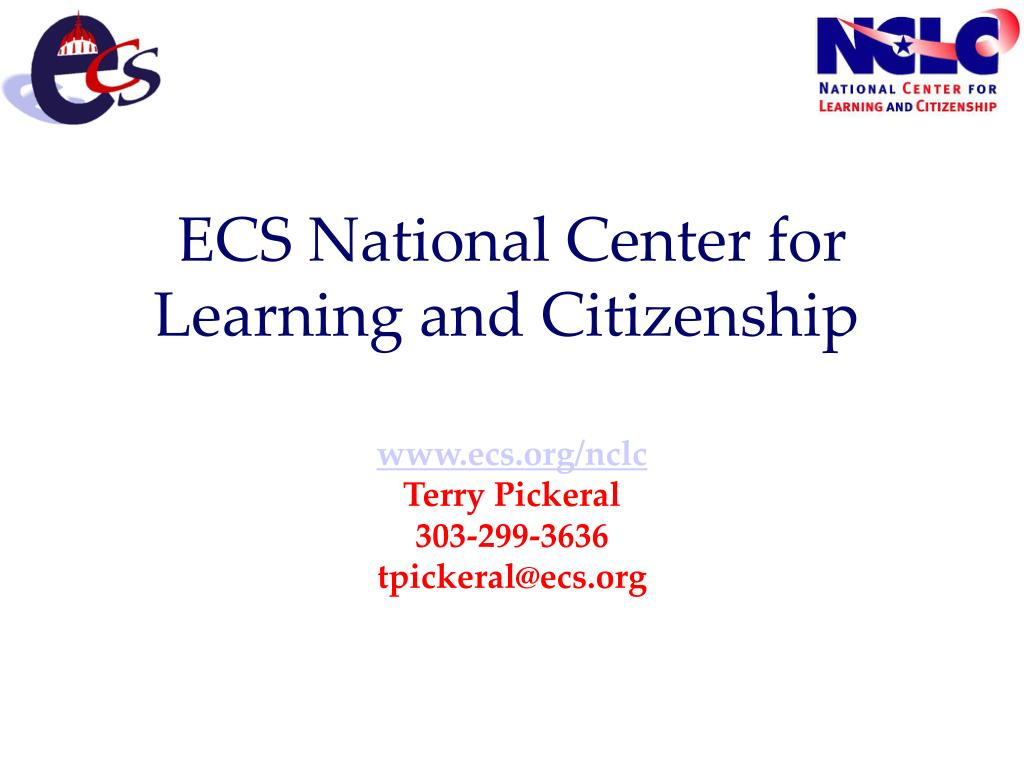 ECS National Center for Learning and Citizenship