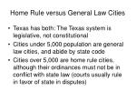 home rule versus general law cities
