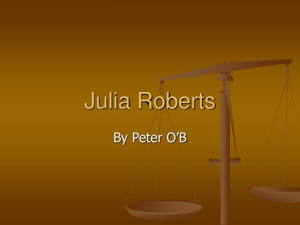 julia roberts l.