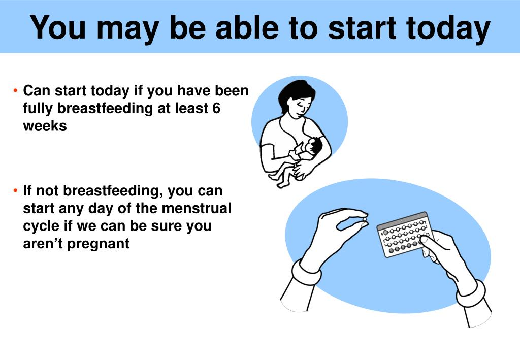 You may be able to start today