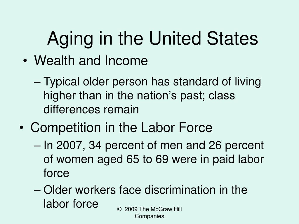 Aging in the United States
