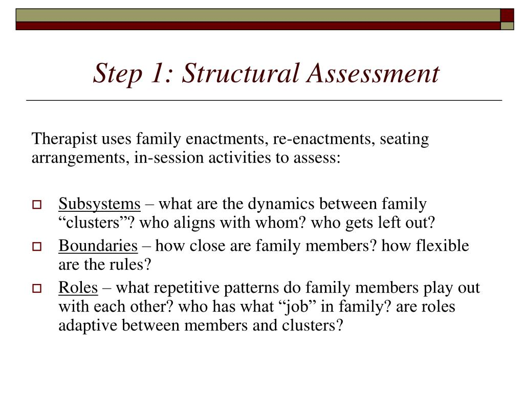 Step 1: Structural Assessment