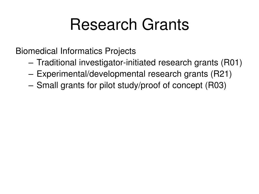 Research Grants