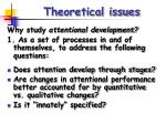theoretical issues7