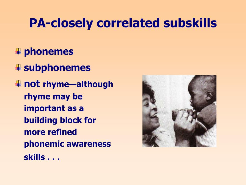 PA-closely correlated subskills