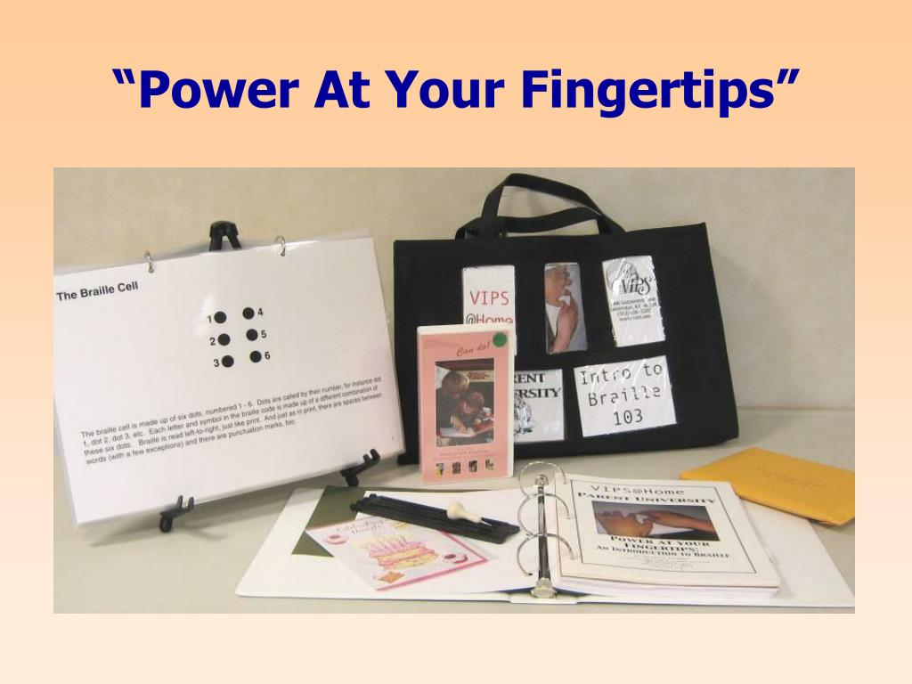 """""""Power At Your Fingertips"""""""