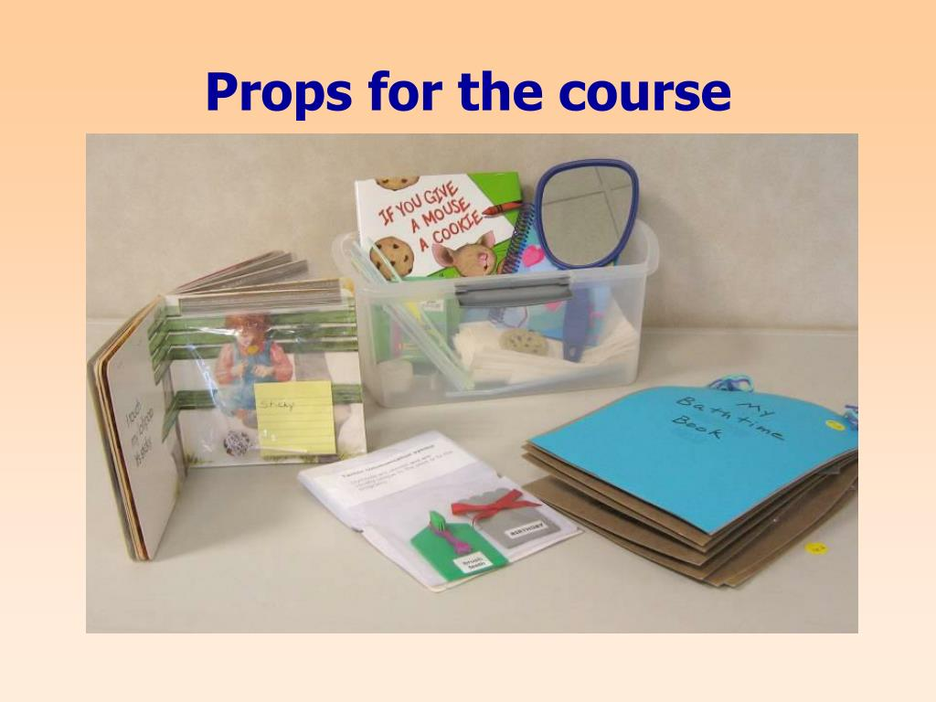 Props for the course