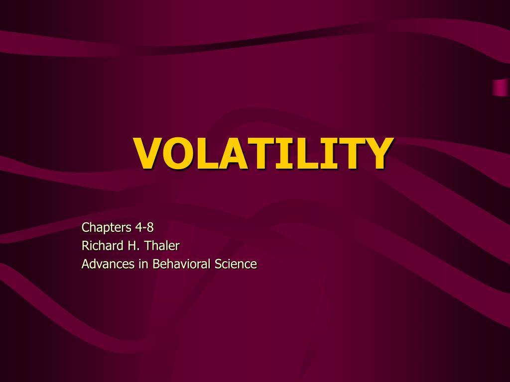volatility l.
