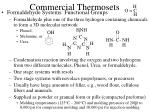 commercial thermosets